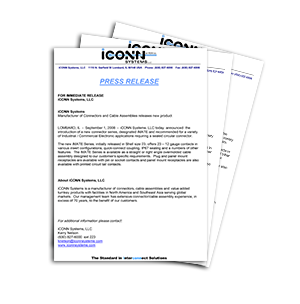 iCONN SYSTEMS RELEASES NEW PRODUCT