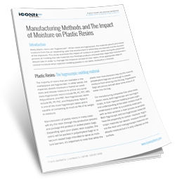 The Impact of Moisture on Plastic Resins
