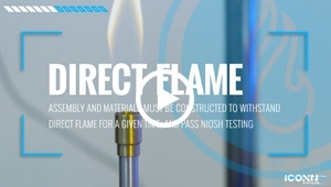 Direct Flame Video