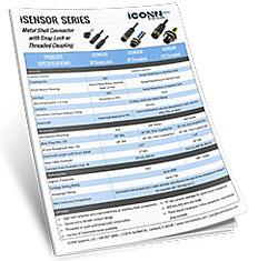 iSENSOR Series Spec Sheet