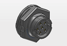 panel-mount-receptacle